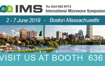 Vertigo Technologies at the International Microwave Symposium 2019 – Boston, Massachusetts.