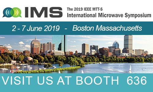 Vertigo Technologies at the International Microwave Symposium 2019 – Boston, Massachusetts.